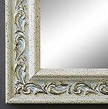 Online Galerie Bingold Spiegel Wandspiegel Badspiegel Flurspiegel Garderobenspiegel - Über 200 Größen - Verona Creme Weiß 4,4 - Außenmaß des Spiegels 40 x 80 - Wunschmaße auf Anfrage - Antik, Barock