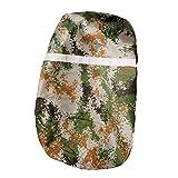 Homyl Raincover for Backpacks 60L-90L - große Regenhülle für Rucksäcke - Rucksack Regenschutz - Tarnfarbe