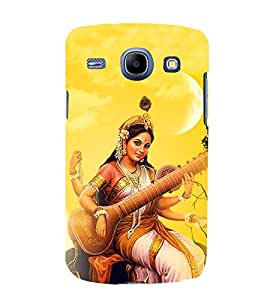 PrintVisa Godess Of Sangeet 3D Hard Polycarbonate Designer Back Case Cover for Samsung Galaxy Core I8260 :: Samsung Galaxy Core I8262 Duos