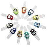 tione-ve LCD Tonelly contatore fila contatore elettronico con barretta Ronendom color