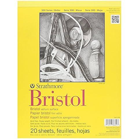 Strathmore Bristol Vellum Paper Pad 9
