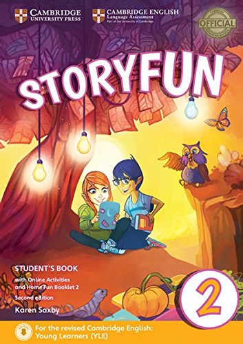Storyfun for Starters, Movers and Flyers 2. Student's Book with online activities and Home Fun Booklet. 2nd Edition