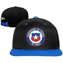 Runy Custom adulto Federacion de futbol de Chile ajustable Hip Hop sombrero y gorra