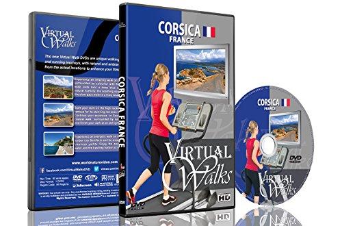 Virtuelle Spaziergänge - Korsika, Frankreich für Indoor Walking, Laufband und Radfahrtraining