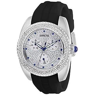 Invicta 28483 Angel Reloj para Mujer acero inoxidable Cuarzo Esfera plata