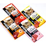 Webbox Cats Delight Tasty Sticks Chews Treats Variety Pack 12 x 6 (72 Sticks)