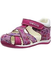 Geox B EACH GIRL A, Baskets premiers pas mixte bébé