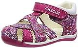 Geox Baby Mädchen B Each Girl A Sandalen, Pink (Dk Fuchsiac8321), 21 EU