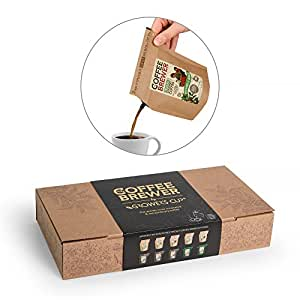 Coffeebrewer Gift Box Assortment 10pcs by Grower's Cup - Perfect Gift item
