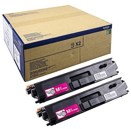 Preisvergleich Produktbild Brother TN-900MTWIN Toner für HL-L9200CDWT, MFC-L9550CDWT, magenta