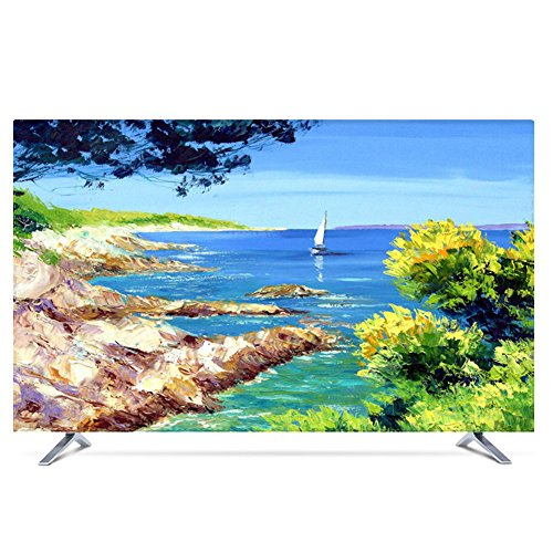 NACHEN Fernseher Abdeckung Für Innenanwendung Staub Und Wasserfest TV Schutz Für HDTV, LCD, LED Und Plasma Schutzhülle,Color3,55 -