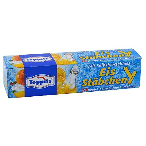 20er Packung Toppits Eiskugel-Beutel Eiskugelformen, Eis Stäbchen