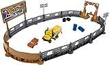 Mattel Disney Cars DXY95 - Disney Cars 3 Cooles Crash-Derby Spielset