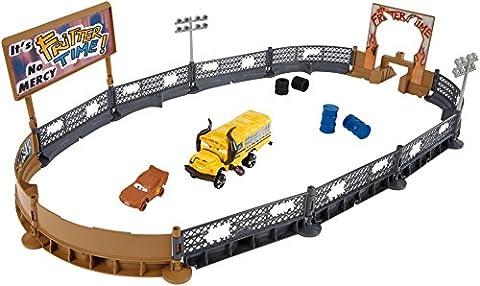 Mattel DXY95 Cars 3 Crazy 8 Crashers Smash and Crash Derby Playset