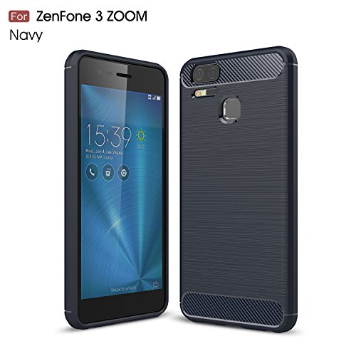 GOGME F&a ASUS Zenfone 3 Zoom ZE553KL, Ultra Slim Case Cover [Durable][Shockproof] Maximum Shock Protection for ASUS Zenfone 3 Zoom ZE553KL, Azul