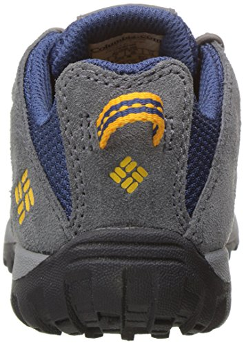 Columbia Childrens Redmond, Chaussures Multisport Outdoor Garçon Bleu (Carbon, Super Solarize 469)