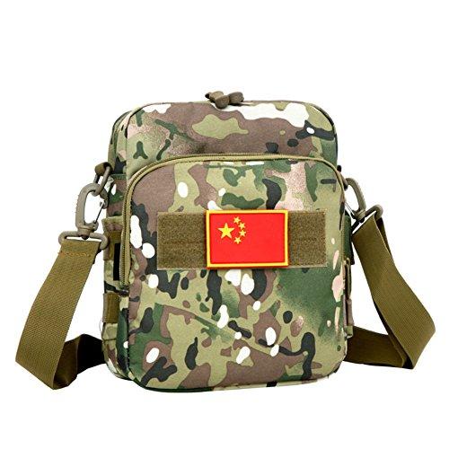 Liebhaber Umhängetasche/Sporttasche/ kleines Paket/Outdoor Camo Tasche Messengerbag B