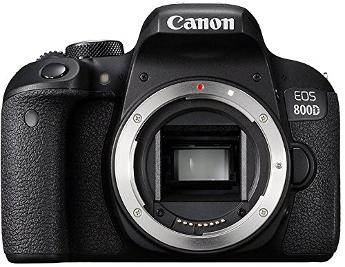 Canon EOS 800D Body Fotocamera Digitale, Nero