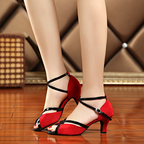 Miyoopark - Ballroom donna Red-6cm heel