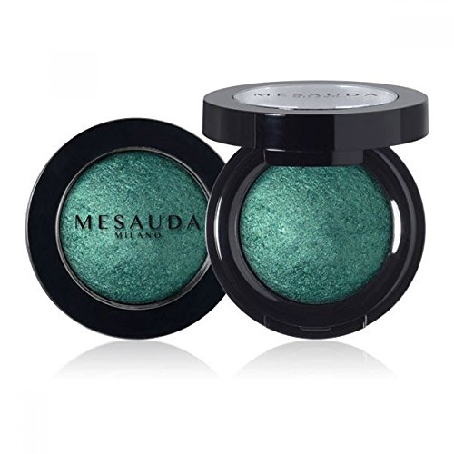 Mesauda Luxury Eyeshadow Ombretto Cotto Wet&Dry Colore 301 Green