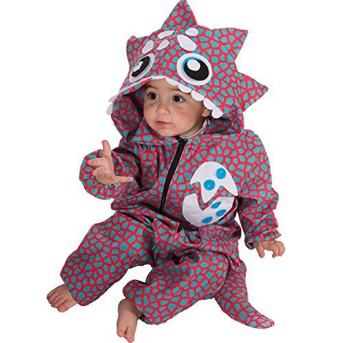 Nines d´Onil Kinder Kostüm Baby Dinosaurier Dino 18-20 Monate Kleinkind Fasching Karneval Babykostüm (Nine D's Kostüm)