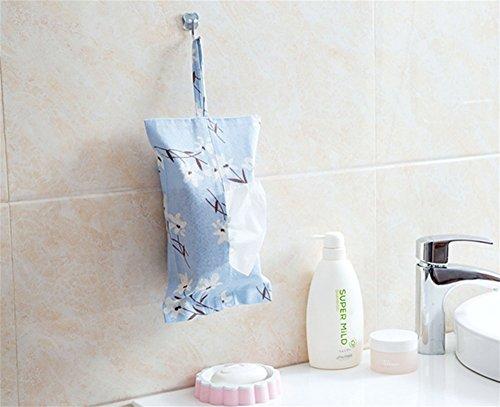 ZHJH Stoff Tissue Papiertuch Hängetasche Papiertüte Tuch Tissue Papiertuch Hängetasche Papier Box, 3