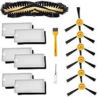 Accesorios para Ecovacs Deebot N79 N79S Robot Aspirador Cepillo principal, filtro Hepa, cepillo lateral