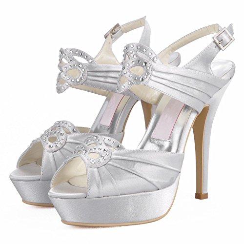 Kevin Fashion , Chaussure de mariée fashion femme beige - Beige - marfil