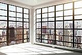 Papier Peint poster panoramique NEW YORK INSIDE 4 x 2,70 m | Déco et photo murale XXL Qualité HD Scenolia