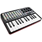 Akai Professional APC KEY 25 Ableton Live USB MIDI Keyboard Controller, Ableton Live Lite, Hybrid 3 by AIR Music Tech (SONiVOX Twist und Toolroom Artist Launch Packs)