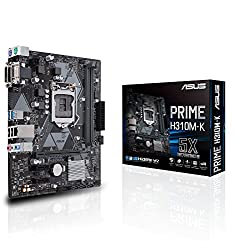 ASUS PRIME H310M-K LGA 1151 (300 Series) Intel H310 SATA 6Gb/s USB 3.1 uATX Intel Motherboard
