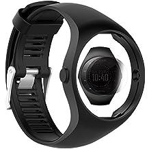 TUSITA Strap + Screen Protector für Polar M200, Ersatz Silikonarmband Armband WristBand Zubehör für Polar GPS Watch