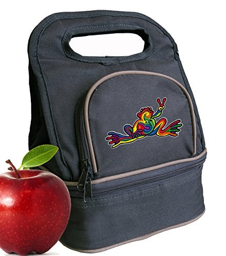 peace-frogs-lunch-bag-super-cool-2-part-lunchbox-cooler-by-broad-bay