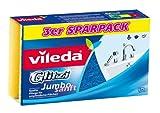 Vileda Glitzi Jumbo Sanft Reinigungsschwamm, 3er Pack