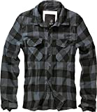 Brandit Check Shirt Black-Grey XXL
