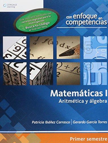 Matematicas/Mathematics: Aritmetica y algebra/Arithmetic and Algebra par Patricia Ibanez Carrasco