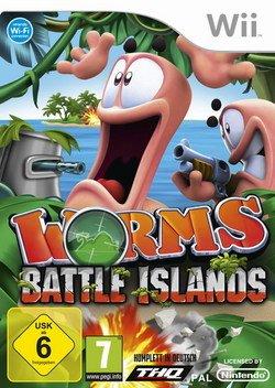 Preisvergleich Produktbild Worms Battle Island Wii