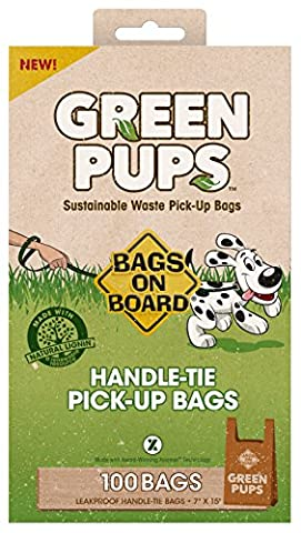 Bags on Board Green Pups Biodegradable Handle-Tie