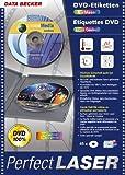 DVD-Etiketten XXL Farblaserfolie