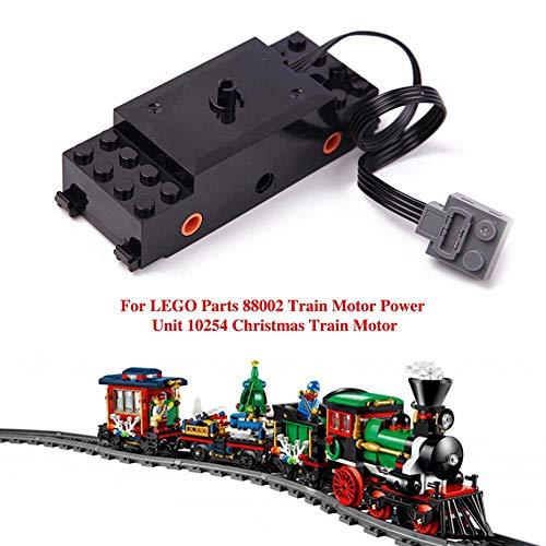 rebirthesame Motorteile für Lego Teile 88002 Triebwagenantrieb 10254 Weihnachtstriebwagen