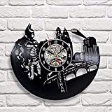 Vintage Vinyl Record Designer Wall Clock Decorate your home with Modern DC Comicses Art Best gift for man