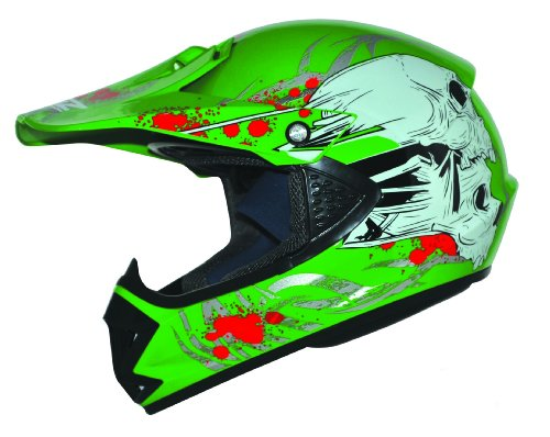 ATO-Helme Kids Pro Enduro Casque de BMX cross quad moto-cross pour enfant...
