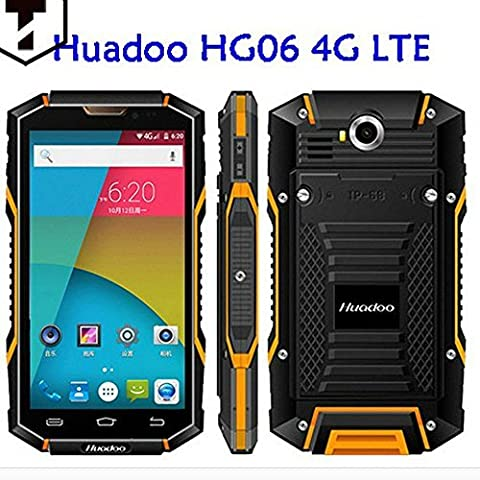 Huadoo HG06 Rugged Water Drop Dust proof Phone MTK6735 Quad Core Full Frequency 5.0