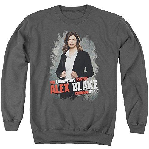 Criminal Minds TV Show CBS Alex Blake Adult Crewneck Sweatshirt