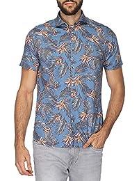 VETTORIO FRATINI By Shoppers Stop Mens Regular Collar Printed Shirt