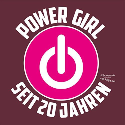 ... Damen Girlie T Shirt Geschenk Zum 20 Geburtstag Für Frauen : : Lustige  Geschenkidee