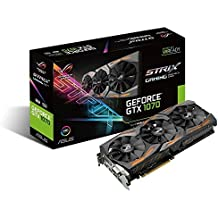 ASUS ROG Strix GeForce GTX 1070 8 GB GDDR5 Graphics Card - Black
