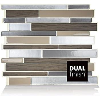 smart tiles tuiles autocollantes pour dosseret milano lino cuisine maison. Black Bedroom Furniture Sets. Home Design Ideas