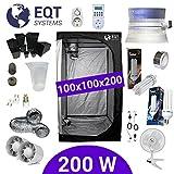 Pack Tente CFL 200W Dual 100x100 + Supacrop