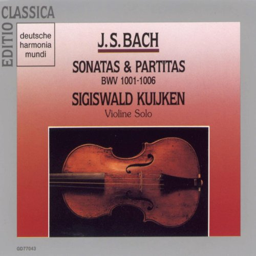 Partita for Solo Violin No. 2 in D Minor, BWV 1004: V. Ciaccona